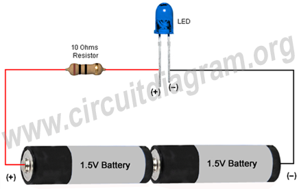 simple basic led circuit 3v simple basic led circuit circuit diagram simple circuit diagram at bayanpartner.co